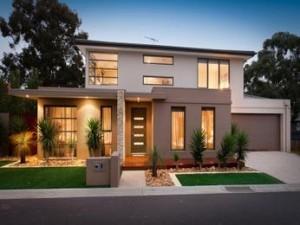 casa moderna compacta